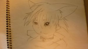 Anime Cat by Peggy2011