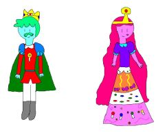 King Mint and Queen Jellybean by jlj16