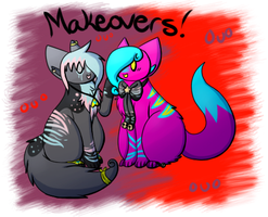 Makeovers! by Mademoiselle-Squeaky