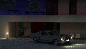 Eleanor at Night by lcamaral