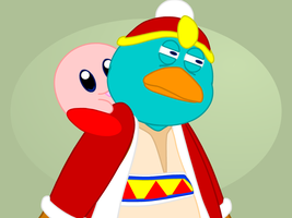 Get off me, Kirby by Lobie5