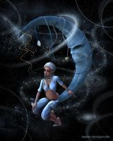 Moon Song by karibous-boutique