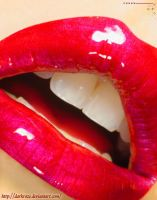 Cherry Lips by darkroze