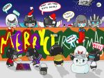 Merry Christmas_Transformers style by Namecchan