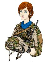 Ellie Rose (helmet off) by ThomChen114
