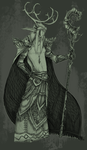 Archdruid Arkil Stormfeather by Richardparson
