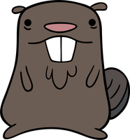 Gravity Falls - Beaver by TimeImpact