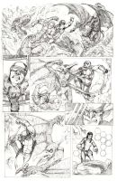 Marvel's X-men Try-Out Page 2 by CPuglise9