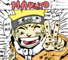naruto colored by anavrinpapercuts