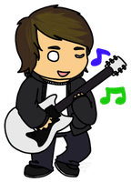Chibi Alex Gaskarth by Noobynewt