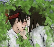 love hidden in the leaves by drummerchick13