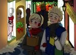 Beginning to Look a Lot Like Christmas by Hikari-Kaitou