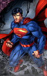 Justice League Superman by LazerBat