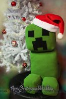 Minecraft Creeper Plushie by Jozie