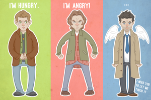 Supernatural: a summary by sn0otchie