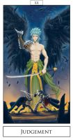 Otaku Tarot - Judgement by DionysiaJones