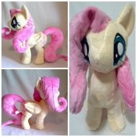 Fluttershy plush by LRK-Creations