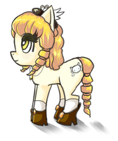Mami Little Pony by FatBirdStudio