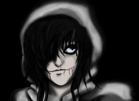 Jeff the killer by Essilia