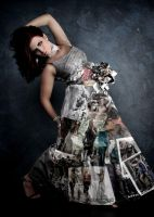 Magazine Dress by Aeon-Phoenix