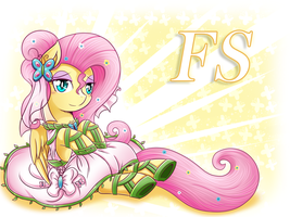 Fluttershy the bride by vavacung