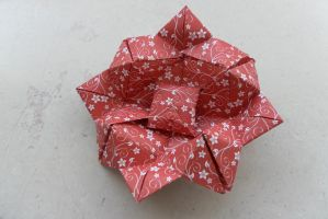 Origami Lotus by fleecyblue