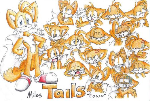 Tails expressions by mmishee