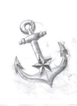 Anchor tattoo sketch by JonnyANDfrankie