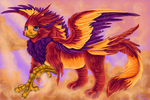 Griffin of Morning by Bitterlimeparakeet