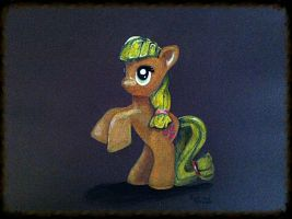 Applejack Toy Drawing by PencilRick