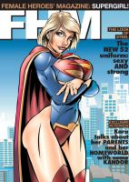 Supergirl on the Cover of FHM by yomark