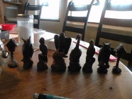 Wax Chess Set by Chardove