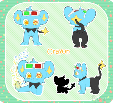 Small Ref - Crayon by RayFloret
