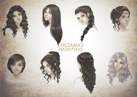 Luciana's Hairstyles by CristianaLeone
