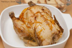 Grilled orange chicken by patchow
