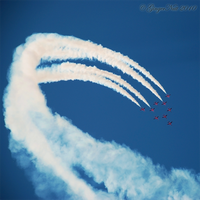 The Red Arrows by GingerNutt