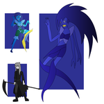 Azurite Fusion by Keytee-chan