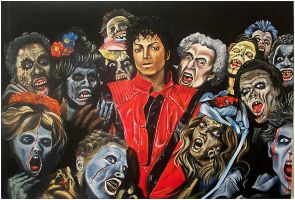 Michael Jacksons Thriller by JeremyWorst