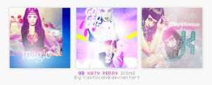 03 Katy Perry Icons by caotiicah