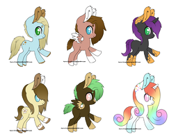 Pony Batch: CLOSED by Kuro-Creations