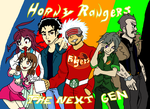 Horny Rangers The Next Gen by SilentGirlCompany