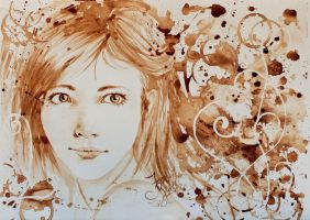 Coffee Painting 3 by MirielDesign