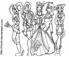 Request_Mandas_Chars_sketches by NickT