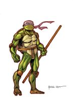 Quick Donatello by ParisAlleyne