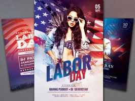 Labor Day Flyer Bundle by styleWish