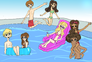 HSM Pool Party by WishComeTrue