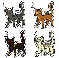Kitty Adoptables #3 price lowered 1 left by Kaninano