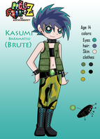 Kasumi- Brute Z reference by lBiancal