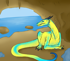 Dragon Entry for Contest by SilverSoulArtist