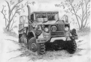 M35A2 2.5-ton 6x6 Cargo Truck by AtomicSquid
